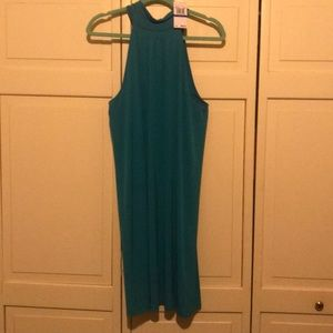 Michael Kors Teal Dress